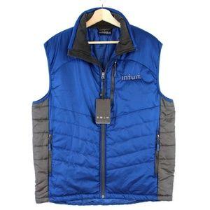 New Fossa Apparel Men's Vest Blue Gray